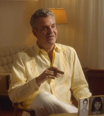 "Danny Huston as Ben ""the Butcher"" Diamond in ""Sitting on Top of the World"", episode 2.06 of Magic City (2012-2013)"