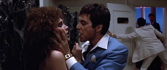 Tony Montana would have been an aggressive bathroom monitor.