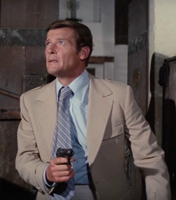 Roger Moore as James Bond in The Spy Who Loved Me (1977)
