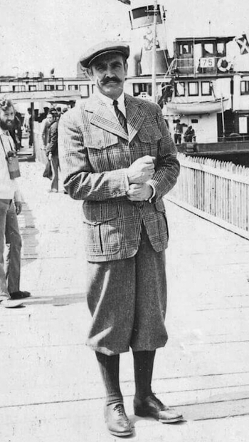 Sean Connery on location in Istanbul during filming of Murder on the Orient Express (1974)