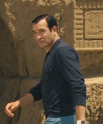 Jean Dujardin as Hubert Bonisseur de La Bath in OSS 117: Cairo, Nest of Spies (2006)