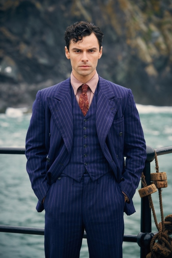 Aidan Turner as Philip Lombard in And Then There Were None (2015)