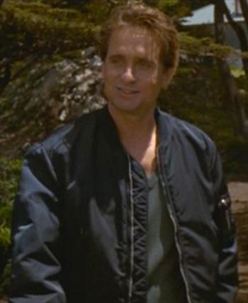 Michael Douglas as Nick Curran in Basic Instinct (1992)