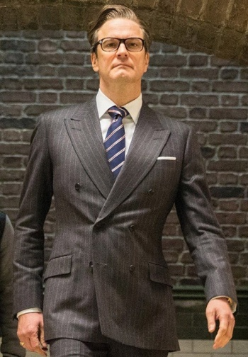 "Colin Firth as Harry Hart, aka ""Galahad"", in Kingsman: The Secret Service (2014)"