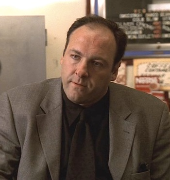 "James Gandolfini as Tony Soprano on The Sopranos (Episode 1.04: ""Meadowlands"")"