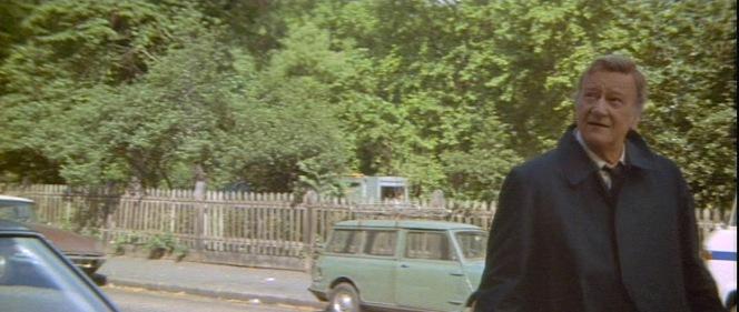 It's a bit sunny for needing a coat like that, Brannigan...