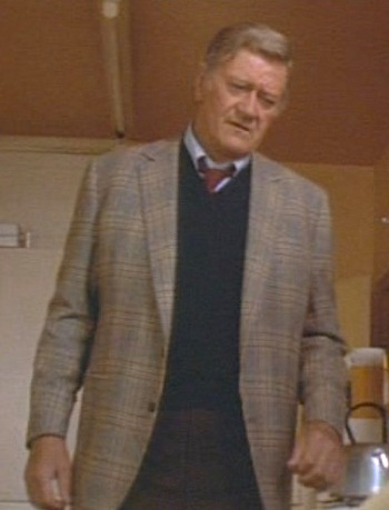 John Wayne as Lt. Jim Brannigan in Brannigan (1975)