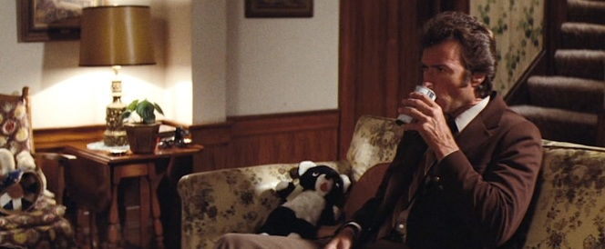 Schlitz and stuffed animals. Hell of a Friday night, Harry.