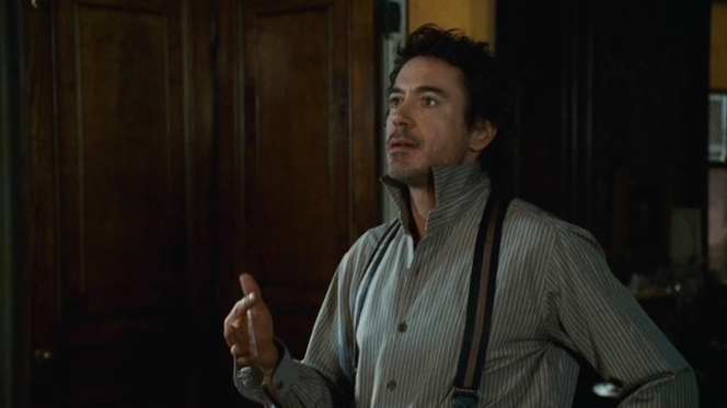 Holmes pontificates.