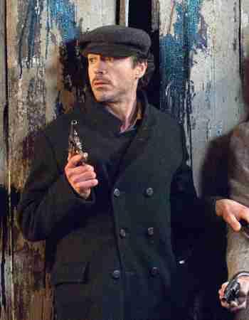 Robert Downey Jr. as Sherlock Holmes in Sherlock Holmes (2009)