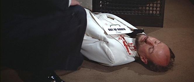 Bond eulogizes the late Max Kalba.
