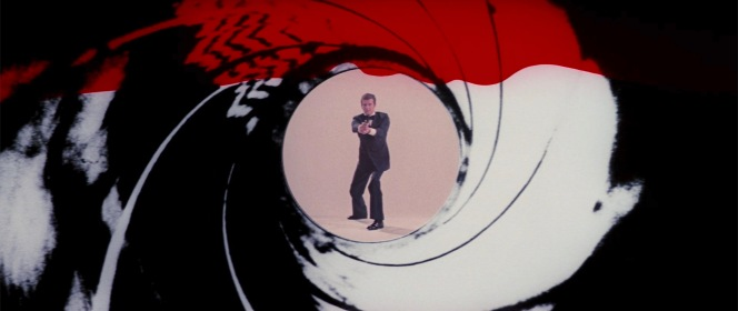 Roger Moore's tuxedo-clad gunbarrel sequence set a new standard for the series that would last a quarter of a century.