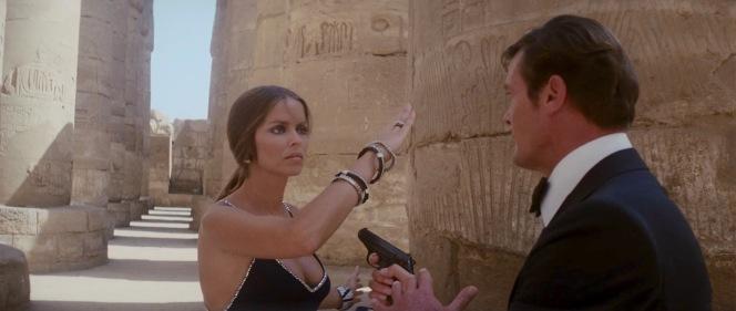 Bond's PPK vs. Major Amasova's bracelet-laden wrist. Who would win?