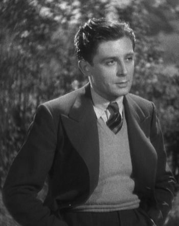 Derrick De Marney as Robert Tisdall in Young and Innocent (1937)