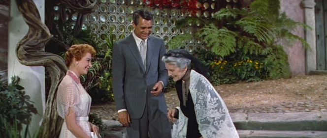 Cathleen Nesbitt, the actress who plays Cary Grant's grandmother, was born November 24, 1888... making her just about 15 years older than Grant himself. That's some family.