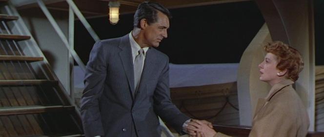 Shipboard romance.