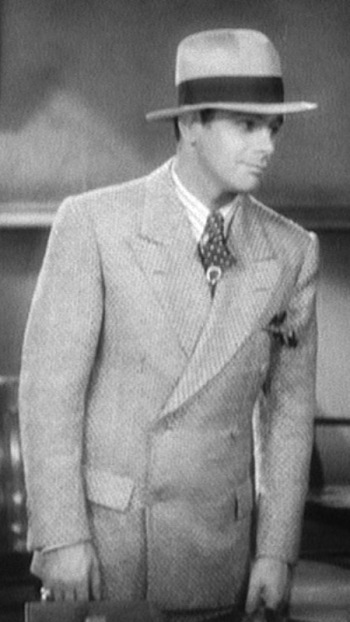Paul Muni as Tony Camonte in Scarface (1932)