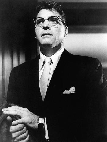 Burt Lancaster as J.J. Hunsecker in Sweet Smell of Success (1957)