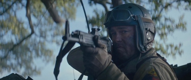 Wardaddy takes aim with his requisitioned StG 44.