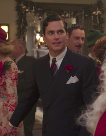 "Matt Bomer as Monroe Stahr on The Last Tycoon (Episode 6: ""A Brady-American Christmas"")"