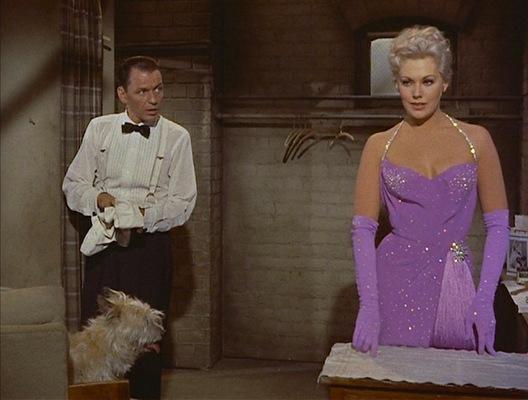 Frank Sinatra and Kim Novak in Pal Joey.
