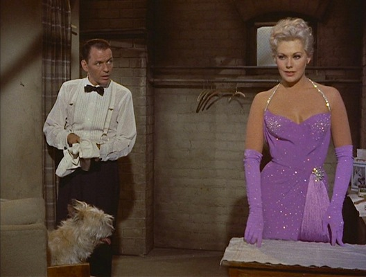 Frank Sinatra and Kim Novak in Pal Joey.