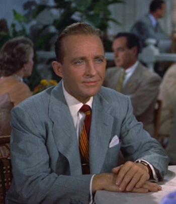 Bing Crosby as Bob Wallace in White Christmas (1954)