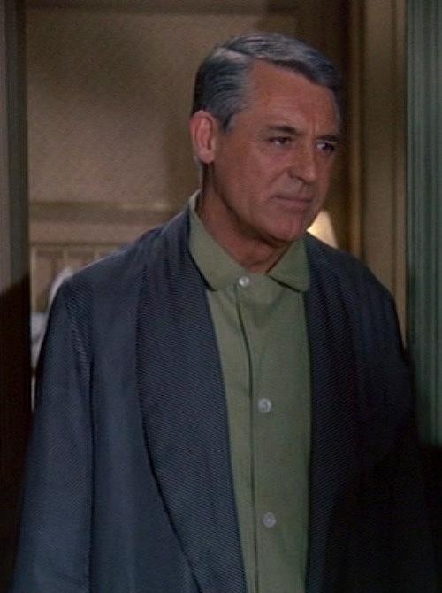 Cary Grant s Green Pajamas in Charade  9de2964a2