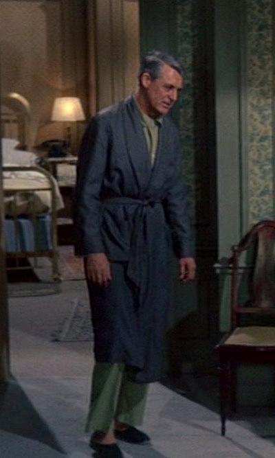 Cary Grant S Green Pajamas In Charade Bamf Style