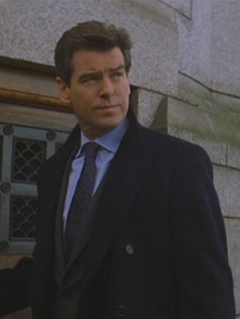 Pierce Brosnan as James Bond in Die Another Day (2002)