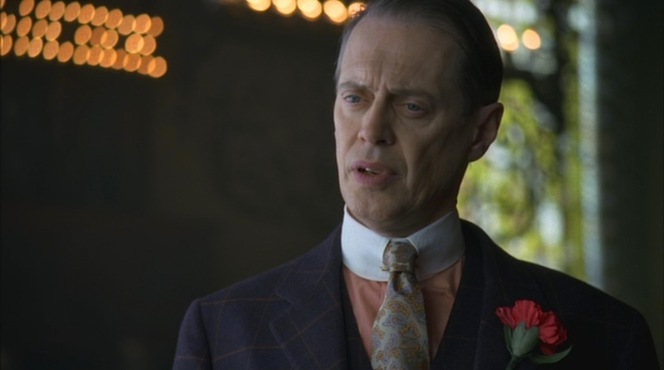 """""""Belle Femme"""" (Episode 1.09): Nucky tries to make sense of the Commodore's ramblings."""