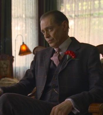 """Steve Buscemi as Enoch """"Nucky"""" Thompson in Boardwalk Empire (Episode 1.11: """"Paris Green"""")"""