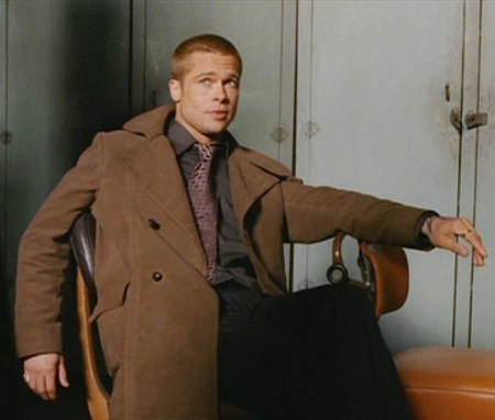 "Brad Pitt as ""Rusty"" Ryan in Ocean's Twelve (2004)"