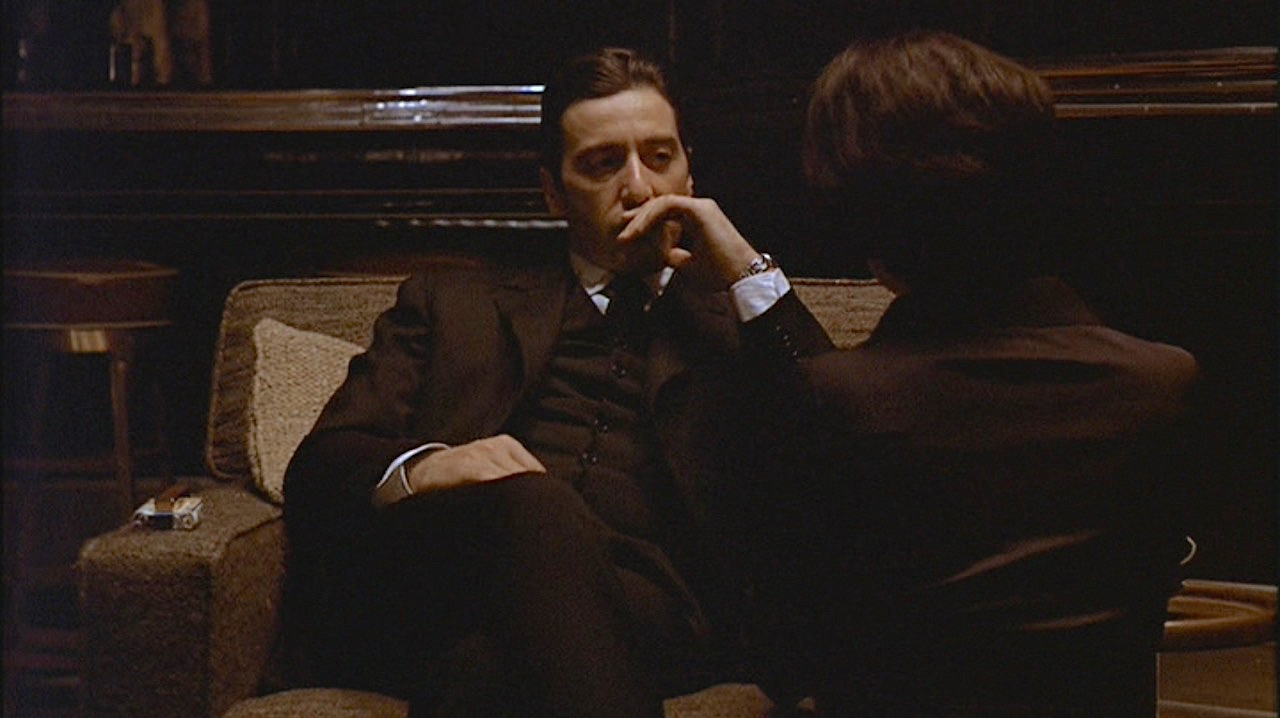 Michael Corleone's Black Three-Piece Suit | BAMF Style