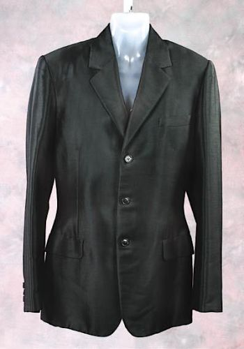 Al Pacino's screen-worn black mohair suit jacket. (Source: GoLive.au.)