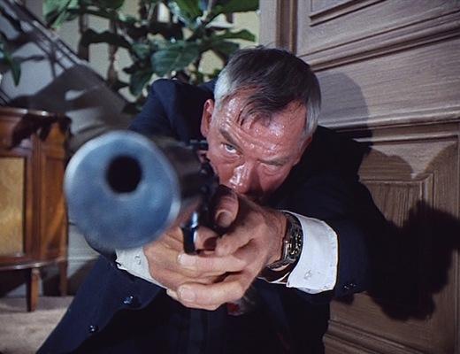 Charlie Strom takes aim.