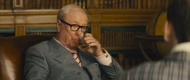 Arthur should exercise more caution when enjoying a drink with Eggsy around...