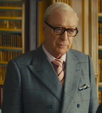 "Michael Caine as ""Arthur"" in Kingsman: The Secret Service (2014)"