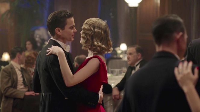 Monroe shares his first dance with Kathleen.