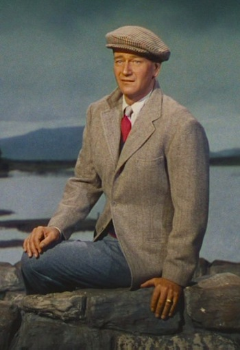 John Wayne as Sean Thornton in The Quiet Man (1952)