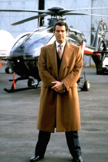 Pierce Brosnan as James Bond in Tomorrow Never Dies (1997)