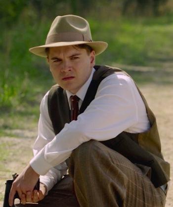 Emile Hirsch as Clyde Barrow in Bonnie & Clyde (2013)