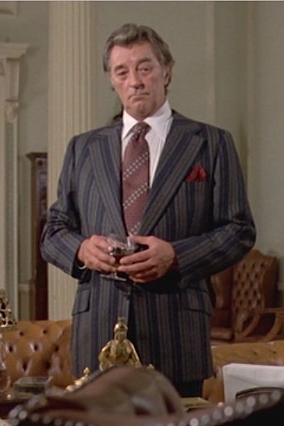 3c5bf30fb5a Mitchum as Marlowe: Striped Jacket in The Big Sleep | BAMF Style