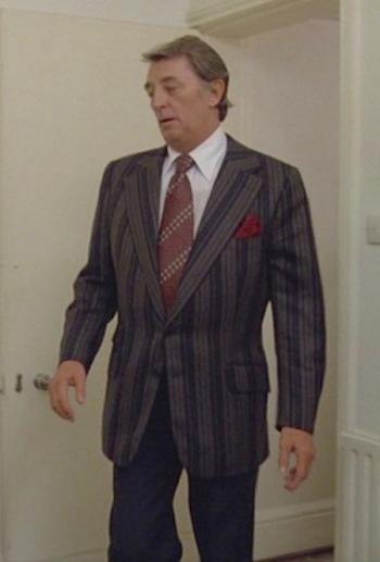 Robert Mitchum as Philip Marlowe in The Big Sleep (1978)