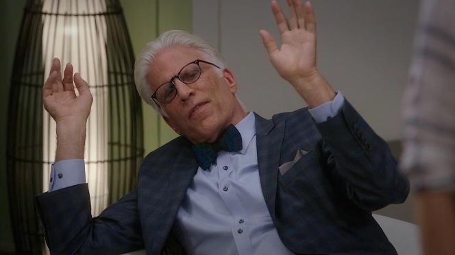 """Michael admits defeat in """"Michael's Gambit"""" (episode 1.13)."""