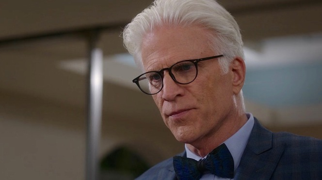 In addition to featuring on The Good Place, this black OP frame appears to be Ted Danson's eyewear of choice in real life.