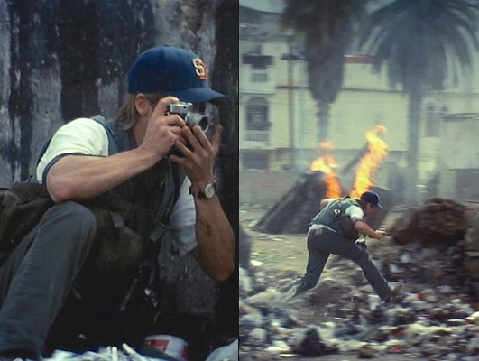 Tom spots a can't-miss Kodak moment.