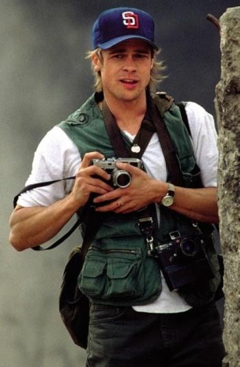 Brad Pitt as Tom Bishop in Spy Game (2001)