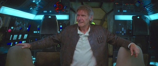 Welcome back to the Millennium Falcon, Han.