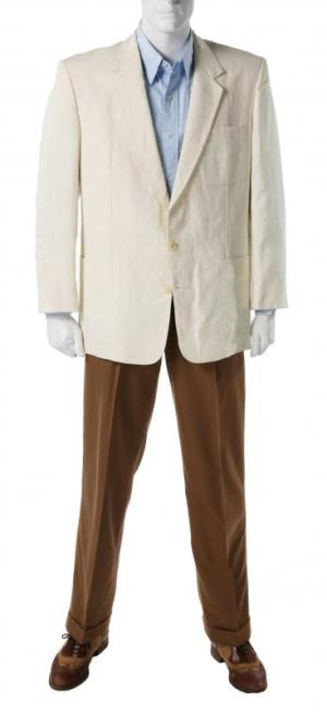 Robert Redford's costume as Jack Weil in Havana (1990), sourced from Julien's Auctions.
